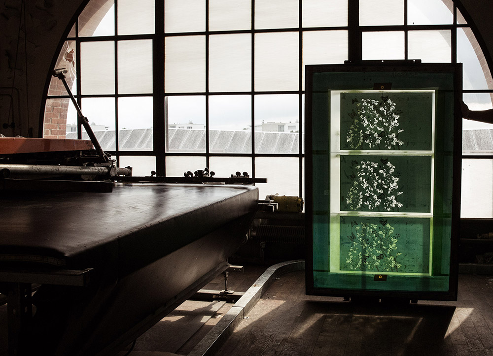 TDS Druckerei Textil Siebdruck Schablone
