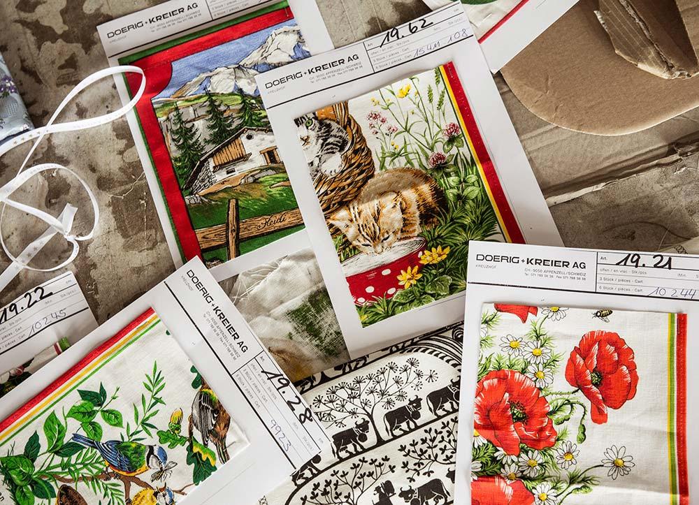 Textildruckerei Arbon Workshop Siebdruck Muster