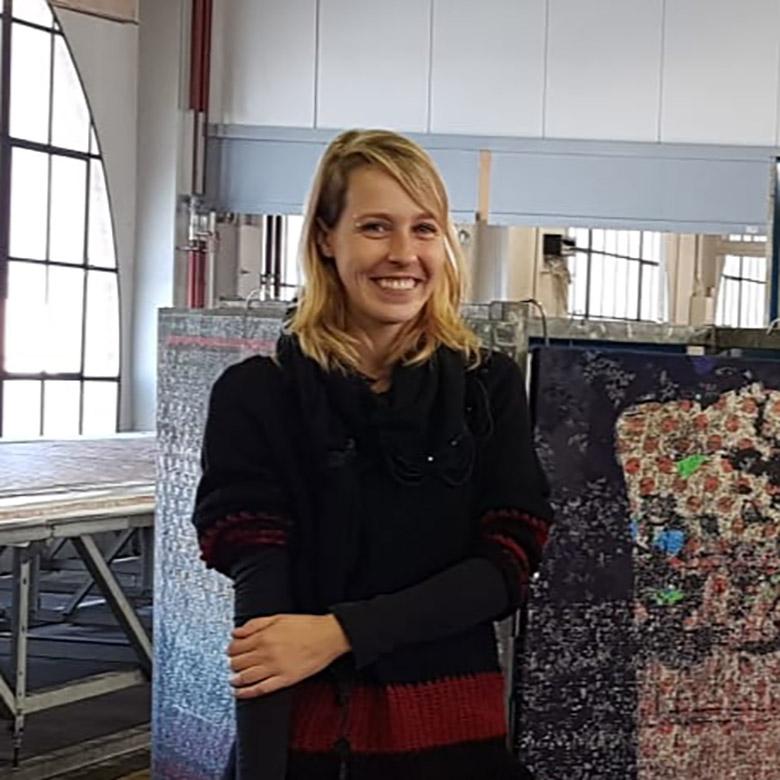 Portrait Linda TDS Textildruckerei Arbon